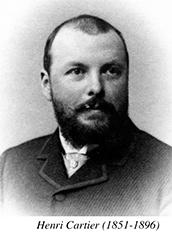 Henri CARTIER 1851