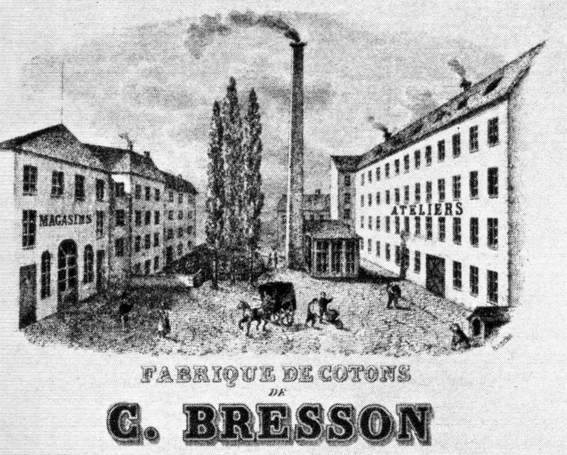Fabrique de cotons de la famille Bresson - Cultea